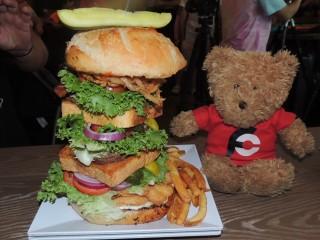 #765 Crabby Joe's Surf N Turf Burger Challenge