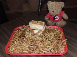 #767 Lakeside Grill's Monster Burger Challenge