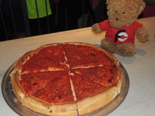 #770 Riverside Pizza's Stuffed Pizza Challenge