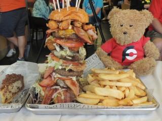 #773 BG Burgers Monster Burger Challenge Bowling Green