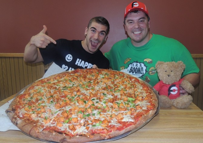 Chick-N-Pizza Works Magnum Challenge Buffalo