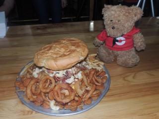 #777 Wagon Train BBQ's Graveyard Burger Challenge