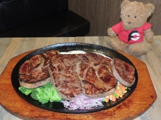 #790 Thickly Cut 95oz Steak Challenge Taipei Taiwan