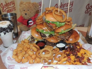 #812 Johnny Rockets Six Classic Burgers Challenge Miami