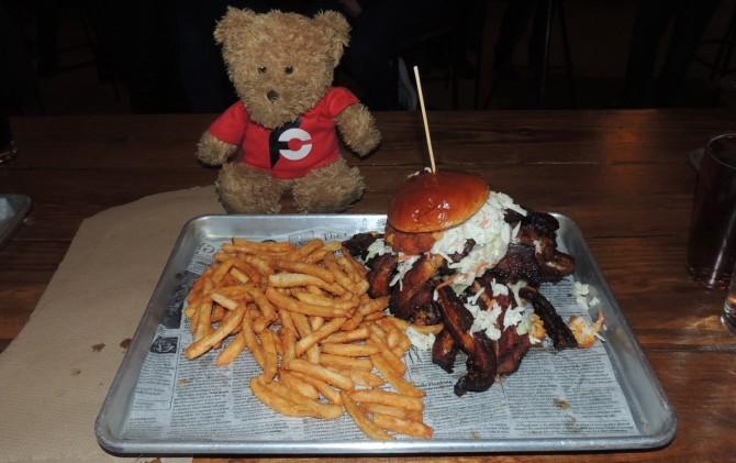 Wild Eagle Saloon Hog-A-Sutra Bacon Burger Cleveland