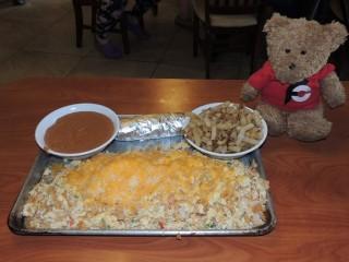 #832 J&J BBQ Texan Migas Breakfast Challenge