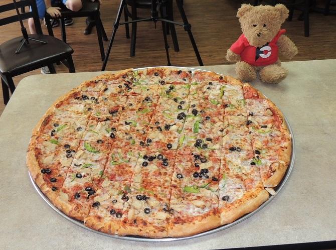 Studebakers Colossus Pizza Challenge Belton