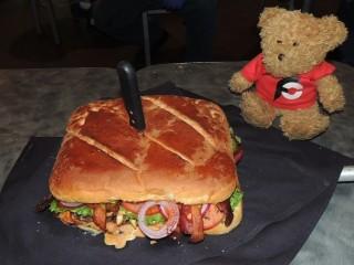 #835 Kenny's El Jefe Grande Burger Challenge Frisco Texas