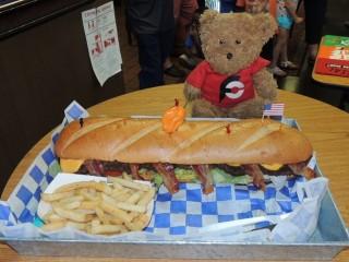 #837 Black Meg 43 Stampede Burger Challenge Copperas Cove