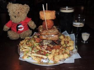 #840 Dublin's Pass Dublin Dare Reuben Burger Challenge
