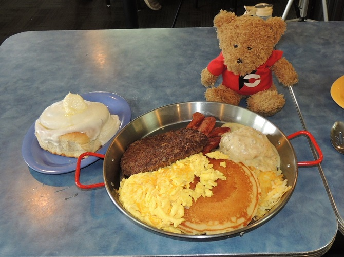 Kriner's Diner Alaskan Breakfast Challenge