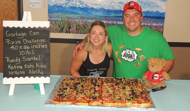 Riverside Pizza Challenge Nenana Alaska Katina Eats Kilos