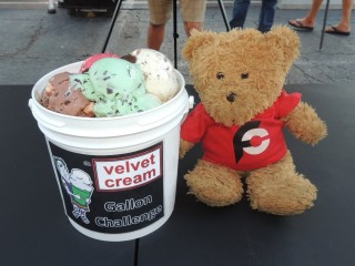 #860 Velvet Cream Dip Gallon Ice Cream Challenge
