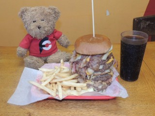 #867 Other One Diner Fatman Burger Record Challenge