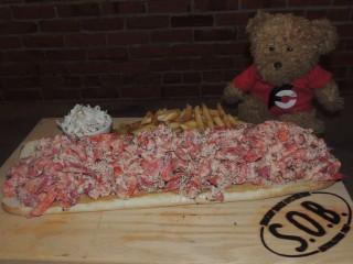 #875 Shuckin Shack Mega Lobster Roll Challenge Wilmington