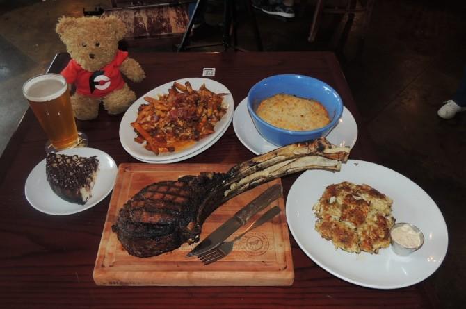 Crooked Oak Tavern Dirty Myrtle Steak Challenge Conway