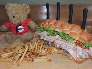 #882 Baker's Box Kessel Run Sandwich Challenge