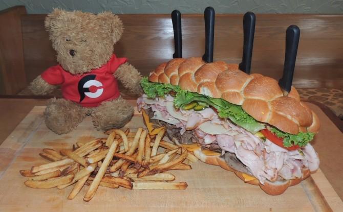 Baker's Box Kessel Run Sandwich Challenge