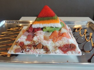 #890 Budi's Sushi Giant Sushi Pyramid Challenge Atlanta