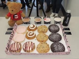 #893 Crumbl Cookies and Ice Cream Challenge Marietta