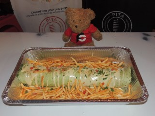 #895 Pita Street Food Gyrito Challenge Columbus
