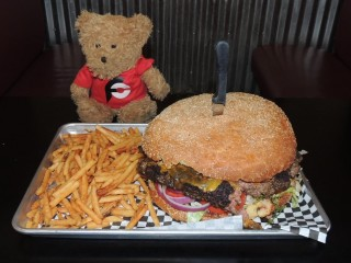 #896 Brett's Casual American Beast Burger Challenge Athens GA